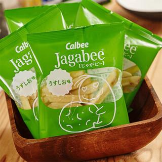 卡乐比(Calbee)咸味薯条零食 淡盐味 80g
