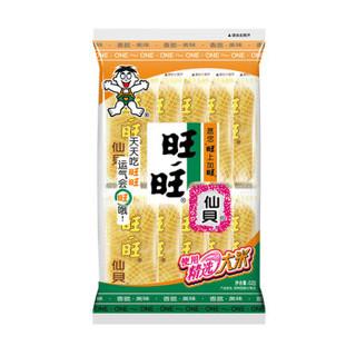 旺旺 仙贝 零食 膨化食品 饼干糕点 52g