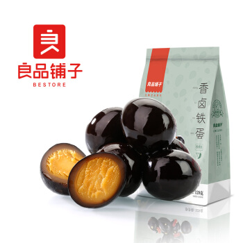 liangpinpuzi 良品铺子 香卤铁蛋 香辣味 128g