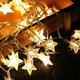 墙面装饰串灯 LED星星款 2米10灯 电池款