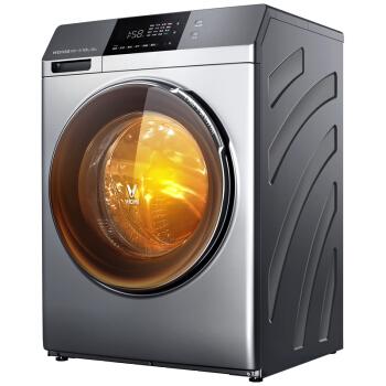VIOMI 云米 WD10S 变频节能滚筒全自动洗衣机 (10KG、银色)