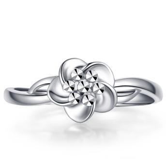 Zocai 佐卡伊珠宝 W06563 戒指 (150.00g、13号、银色)