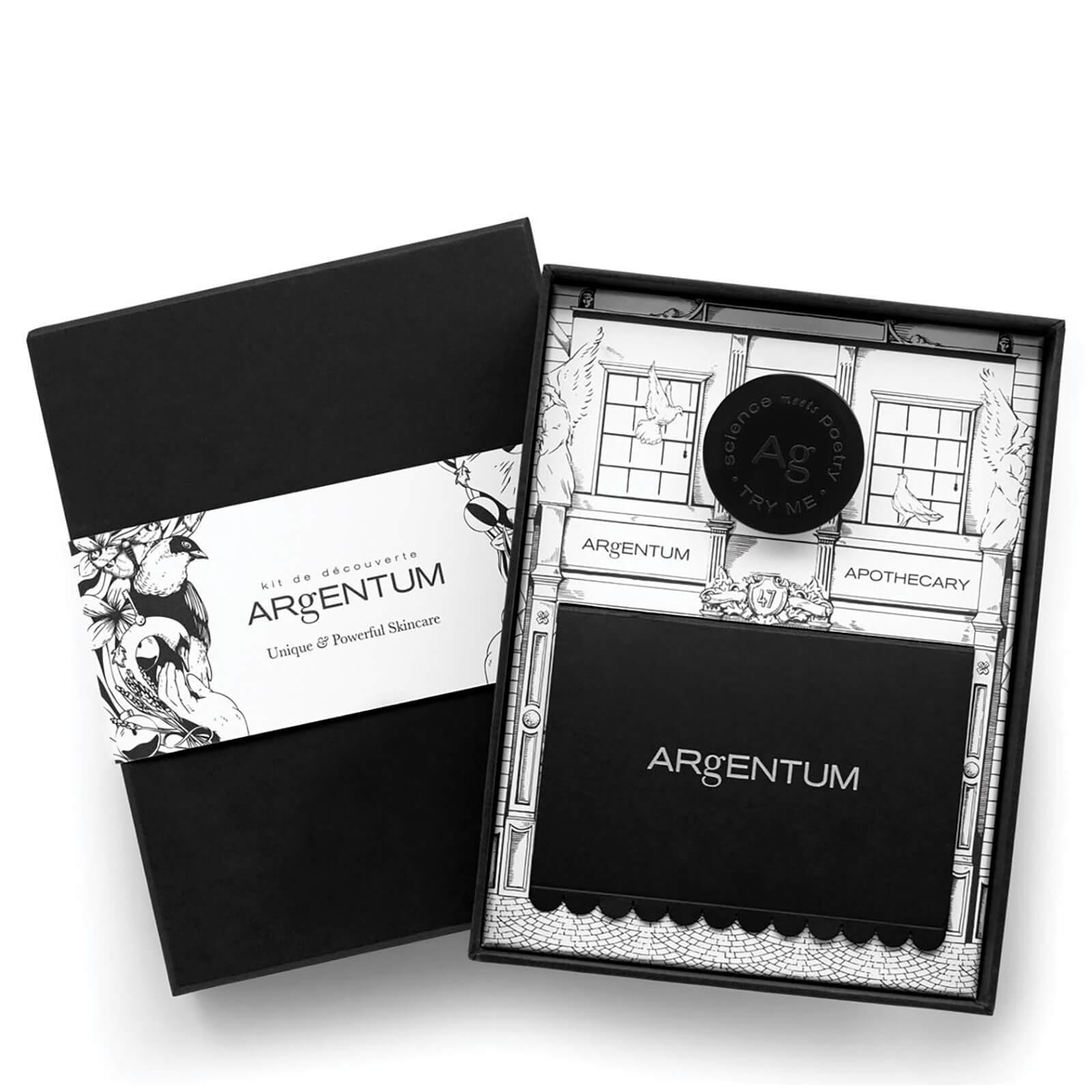 ARgENTUM 入门护肤礼盒(银油3ml+银乳10ml+银皂20g+银霜15ml)