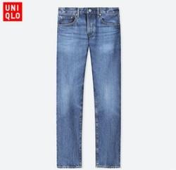 UNIQLO 优衣库 408488 男士直筒牛仔裤