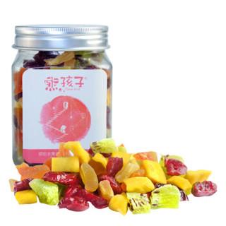 熊孩子 缤纷水果干罐装 118g *10件