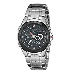 CASIO 卡西欧 Edifice系列 EFA119BK-1AV 男士双显时装腕表