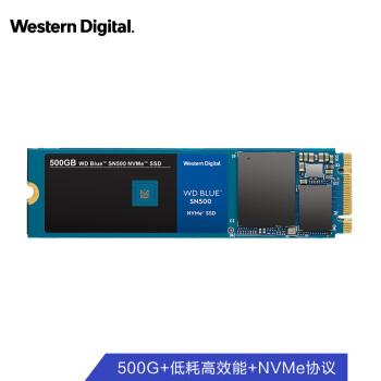Western Digital 西部数据 WDS500G1B0C 固态硬盘 (480-512GB、M.2接口)