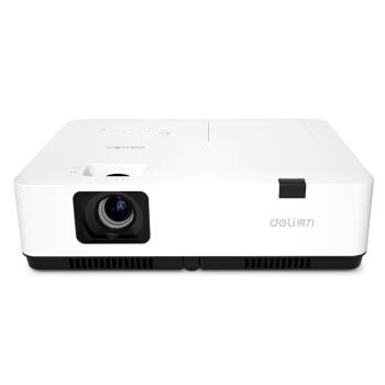 deli 得力 DPS-W435 投影仪 (白色、USB,U盘等、1280X800dpi、商用型、3500、有线同屏、30-300英寸)