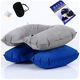 Supple 旅行三宝 避光眼罩+耳塞+充气枕 三件套 *2件