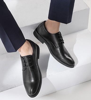 AOKANG 奥康 193811006 男士商务正装皮鞋