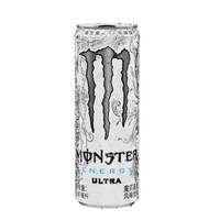 魔爪 Monster 白魔爪 无糖 运动饮料 维生素饮料 330ml*24罐 *2件