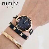 rumba time 奥查德系列 23817 手环式女士时装腕表 多色可选