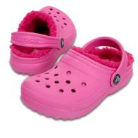 Crocs 卡骆驰 童鞋 经典暖棉小童休闲棉拖鞋