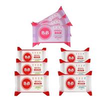 B&B 保宁 婴儿除菌洗衣皂 200g*9块混合装 洋槐香3块+柑橘香3块+薰衣草香3块