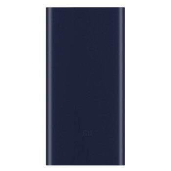 MI 小米 充电宝移动电源2大容量双向快充迷你轻薄便携手机充电器通用企业礼品奖品2代 (黑色、多口输出、10000毫安)
