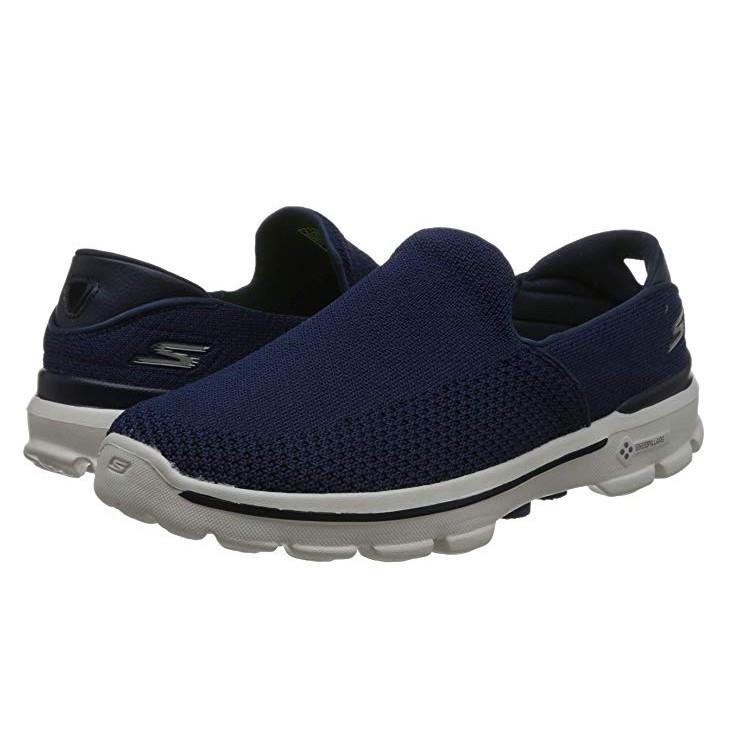 Skechers 斯凯奇 54057 GO WALK 3系列 男 轻质一脚蹬健步鞋