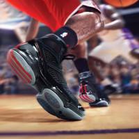 adidas 阿迪达斯 BB7824 Rose 1.5 复刻 篮球鞋 (黑红、42.5)