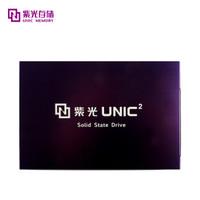 紫光(UNIC MEMORY) S100-480 SSD固态硬盘 480GB SATA3.0接口 2.5英寸 S100系列 3DTLC颗粒 三年质保