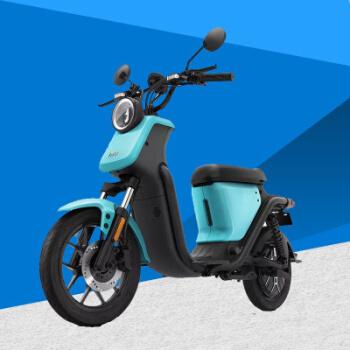 小牛 电动车 TDR06Z电瓶 电动车 U1都市升级版蓝色 48V