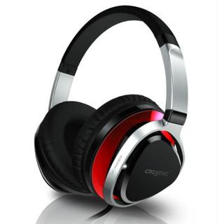 CREATIVE 创新 Aurvana Live2 头戴耳机 红色