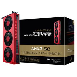 AMD Radeon VII 50周年纪念版 7nm游戏显卡