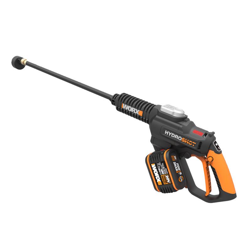 威克士高压无线洗车机家用锂电清洗机充电式车载水枪便携洗车神器