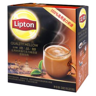 Lipton 立顿 比利时风情巧克力味奶茶 380g
