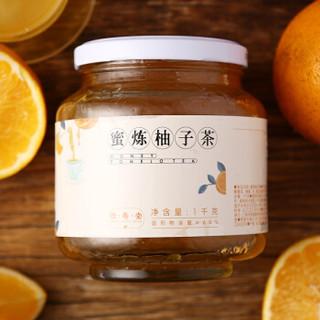 HENG SHOU TANG 恒寿堂 蜜炼柚子茶 (1000g、罐装)
