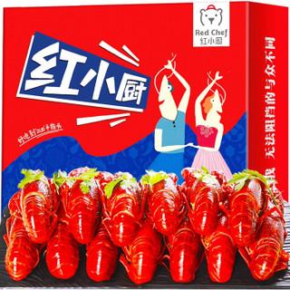 RedChef 红小厨 国产小龙虾礼盒 十三香中号4-6钱34-50只 1.8kg