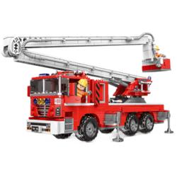 星堡积木 XB-03029 举高消防车