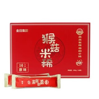 京东PLUS会员 : 金日禾野 猴菇米稀16天装 480g *3件