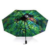 当当优品 鸟少年系列 黑胶三折晴雨伞 清晨之光