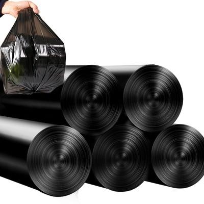 汉世刘家  黑色加厚垃圾袋  100只