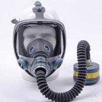 双箭龙SJL700防毒面具喷漆防农药化工防工业粉尘配送风机防尘面罩