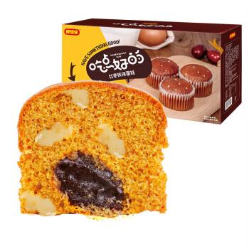 好想你 红枣核桃蛋糕 (420g、原味、盒装、14枚)