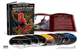 Spider-Man 2002 Spider-Man 2 2004 Spider-Man 3 2007 Set