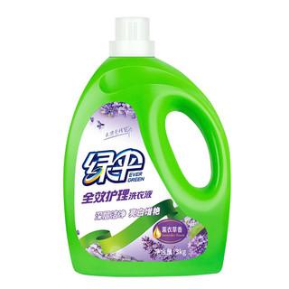 EVER GREEN 绿伞 去污洗衣液 3kg *5件 +凑单品