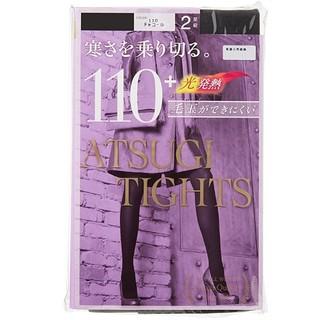 中亚Prime会员 : ATSUGI 厚木 110D 女士发热连裤袜 2双装