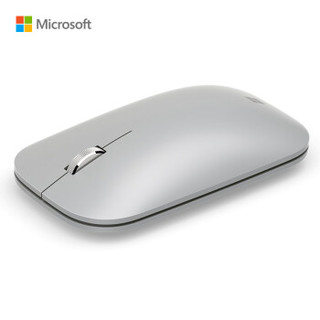 微软(Microsoft)Surface 便携鼠标(亮铂金)