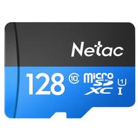 Netac 朗科 P500 U1 Class10 microSD存储卡 TF卡 128GB