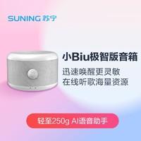 苏宁 SA-P2MH 小Biu音箱极智版(高级灰)便携式AI智能音箱