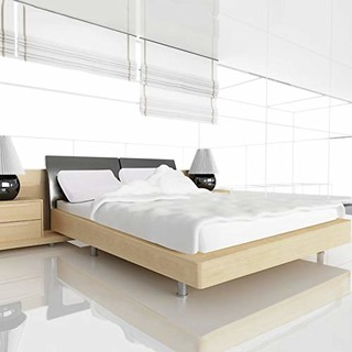 NITTAYA 天然乳胶床垫 200*180*7.5cm +乳胶枕 *2个