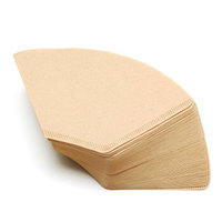 焙印原色咖啡过滤纸 100片 木质纤维过滤纸 102咖啡扇形滤纸 *7件