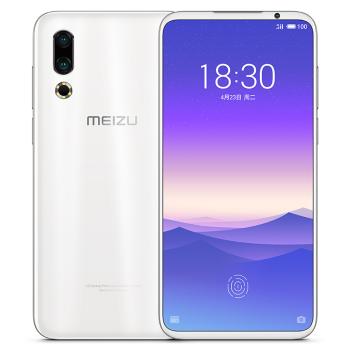 MEIZU 魅族 16s 骁龙855全面屏拍照游戏手机 凝光白 全网通6G+128G