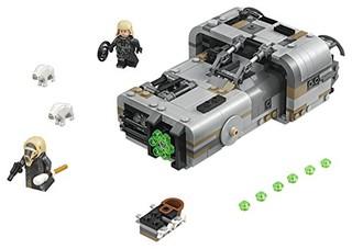 LEGO 乐高 75210 Star Wars Solo: A Star Wars Story Moloch's Landspeeder 75210 Building Kit (464 Piece)