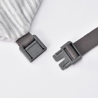 MUJI 无印良品 舒适颈部靠枕 弧形 (麻灰色、15.5×61cm)