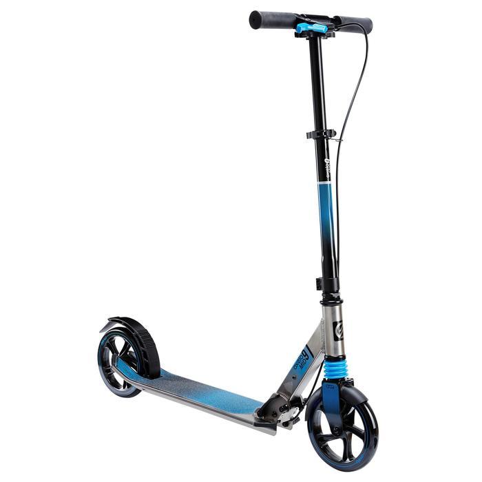 DECATHLON 迪卡侬 OXELO Mid 9  儿童滑板车 蓝色