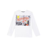 3 pommes 白色印花T恤男童 110-152厘米 (建议4-12岁) *2件