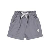法国进口 3 pommes 春秋新品女童 纯棉灰色裤子 12个月-4岁 *2件