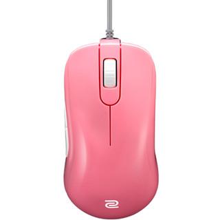 ZOWIE GEAR 卓威 奇亚S鼠标S1 Blue/Pink蓝色粉色电竞游戏鼠标 (蓝色、USB)